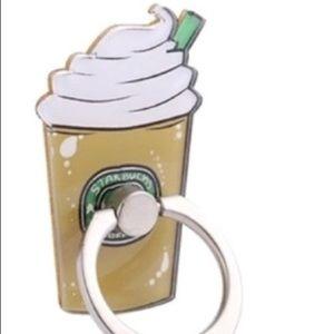 Coffee Phone Ring   Rotates 360°